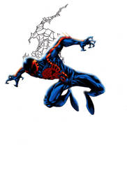 Spider-man 2099 Final by ParisAlleyne