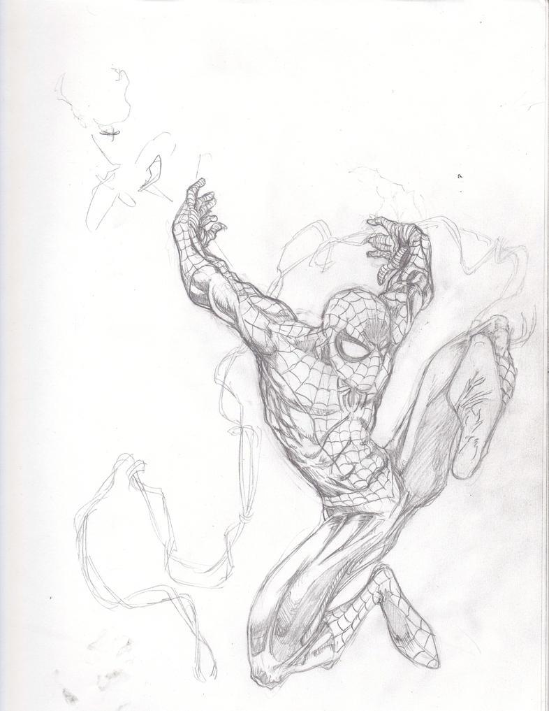 Quick Spider-man by ParisAlleyne