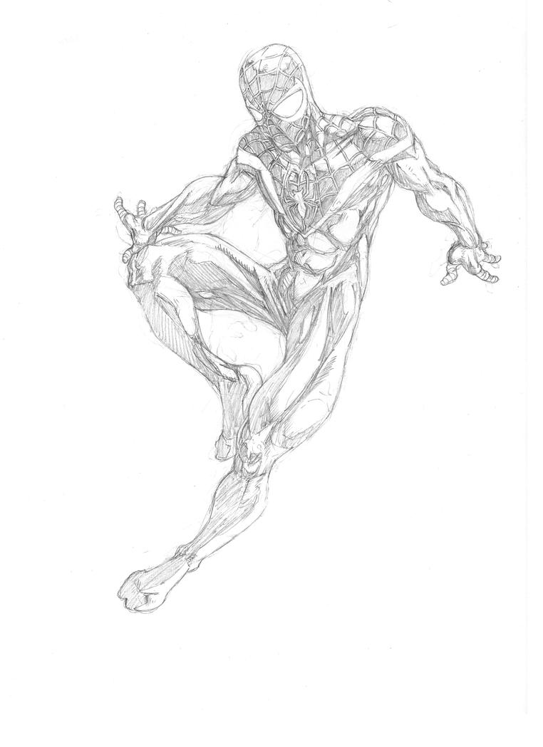 How Draw Ultimate Spider Man PicturesHow To Draw Ultimate Spider Man
