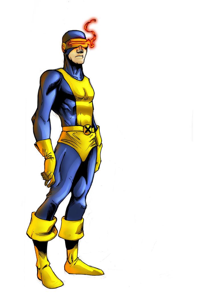 Weeklies- X-men Cyclops by ParisAlleyne