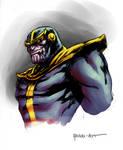 Quick Thanos bust