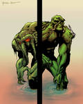 Man Thing and Swamp Thing
