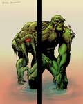 Man Thing and Swamp Thing