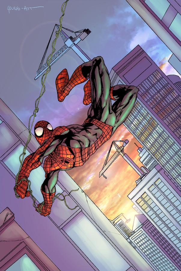 Spider-man by ParisAlleyne