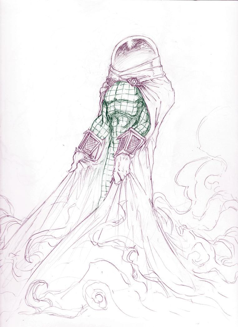 Mysterio Pencils by ParisAlleyne
