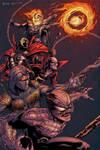 Halloween Dark Heroes