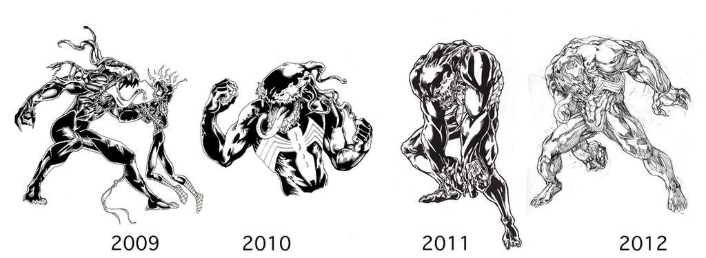 Venom 2009-2012 by ParisAlleyne