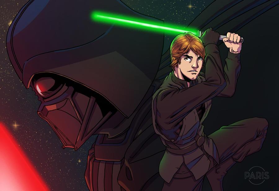 FaH Luke Skywalker By ParisAlleyne