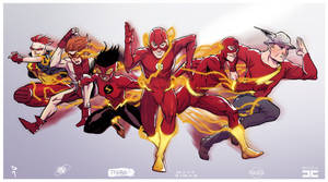 Speed Force collaboration
