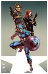 Captain America 2 Collab