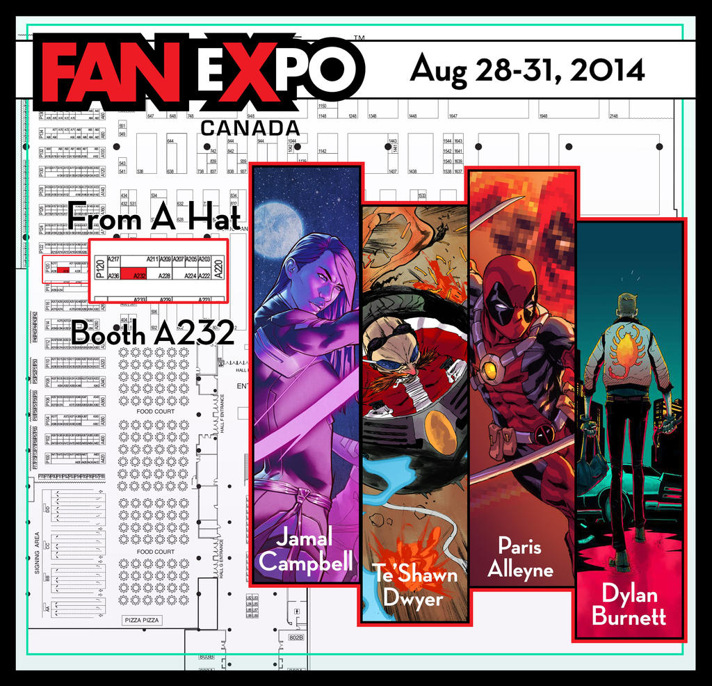 Fan Expo 2014 by ParisAlleyne