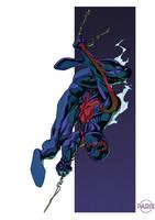 Spider-man 2099 by ParisAlleyne
