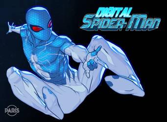 Digital Spider-man by ParisAlleyne