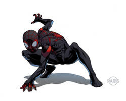 Miles Morales by ParisAlleyne