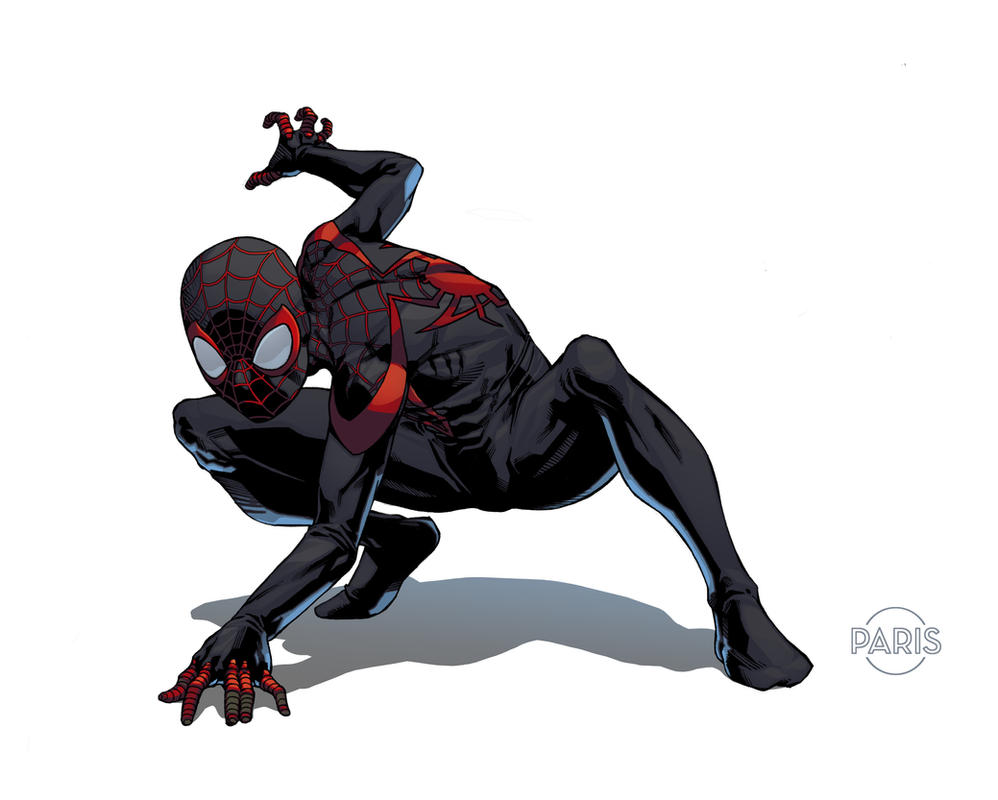 spiderman coloring pages miles morales - photo#22