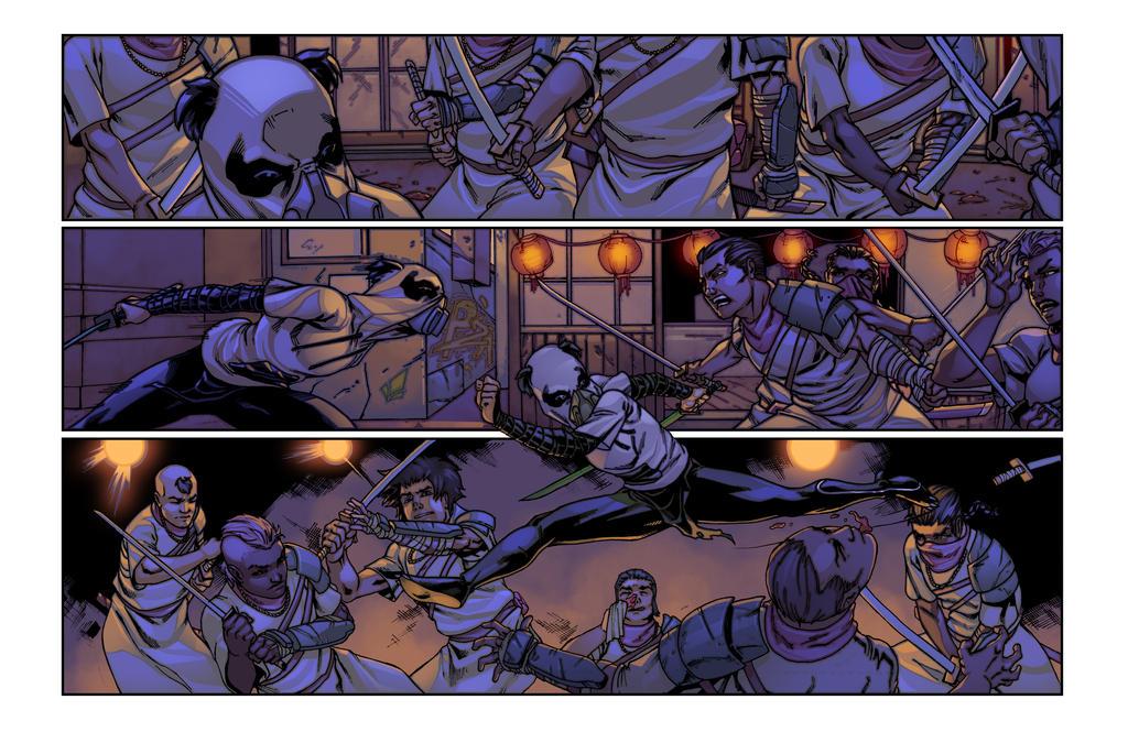 Blackout page sample (tentative title) by ParisAlleyne