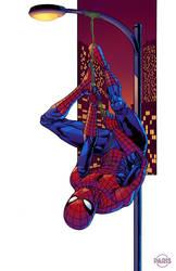 Spider-man Hanging commission