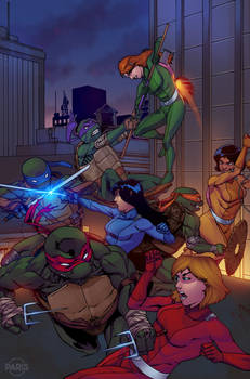 TMNT vs. Totally Spies