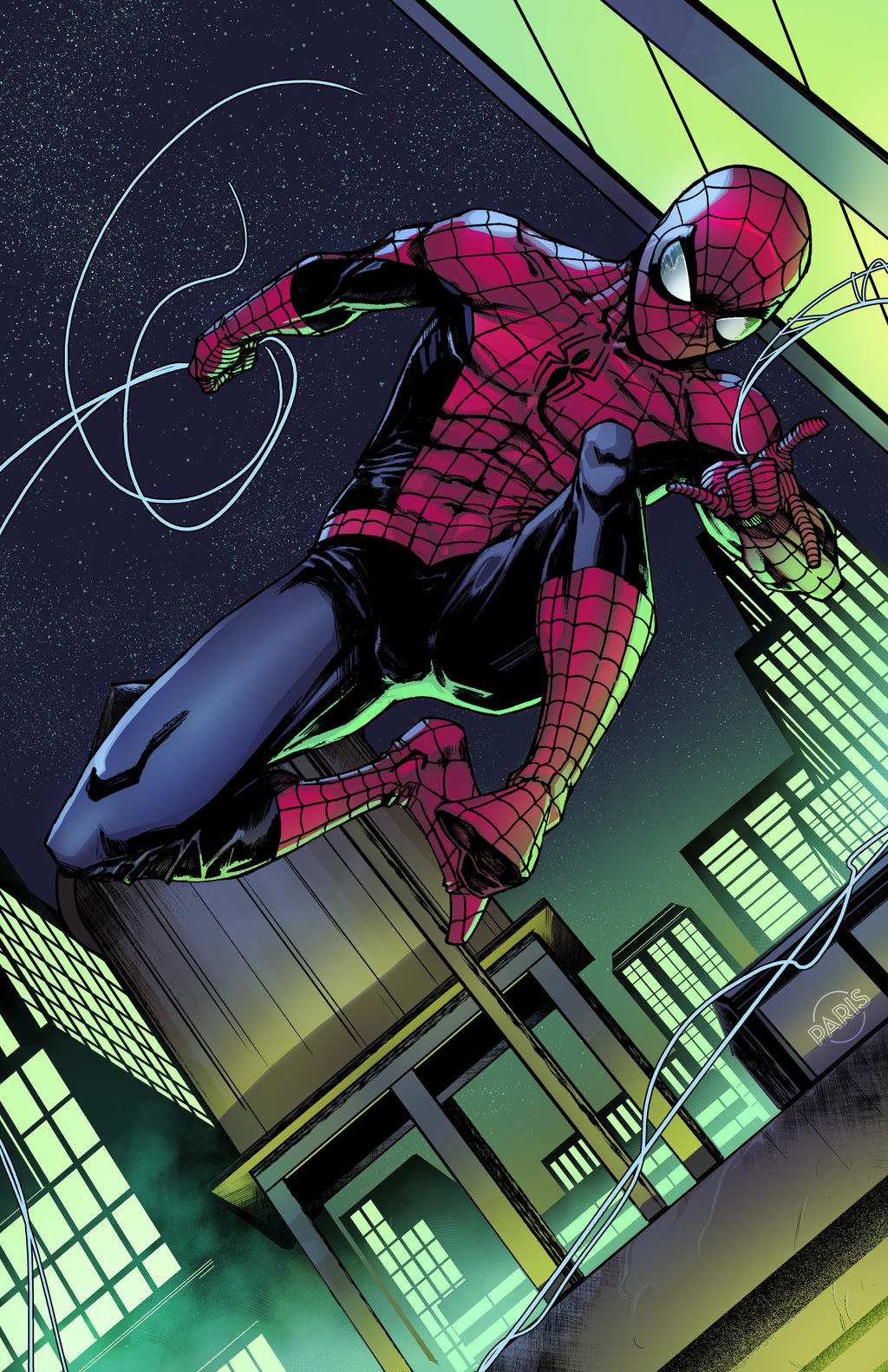 Spidey commission by ParisAlleyne