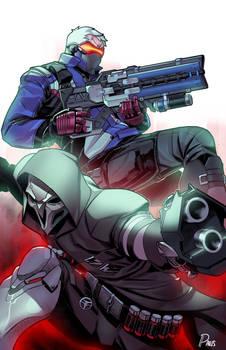 Reaper x Soldier 76