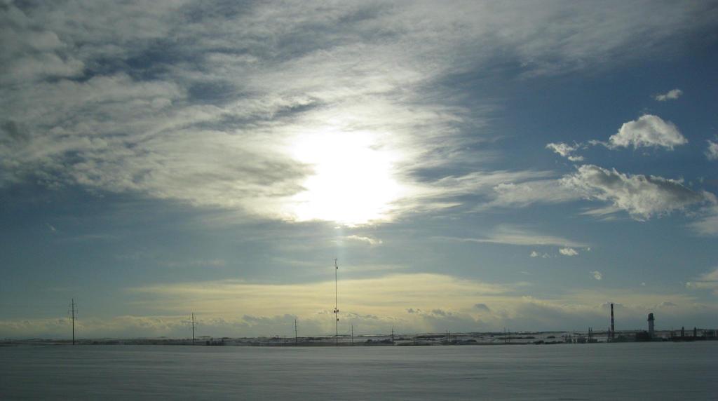 Frozen sky by MikeZK