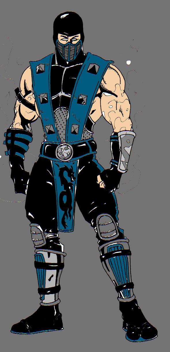 sub zero mk3. all sub zero costumes. cyber