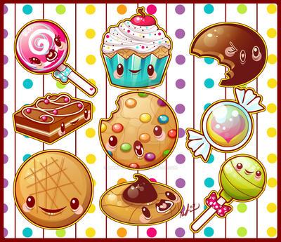 Sweety Yum Yum Set by marywinkler
