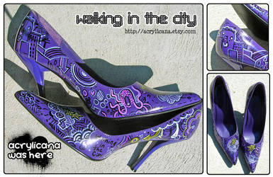 Walking in the City Pumps by marywinkler