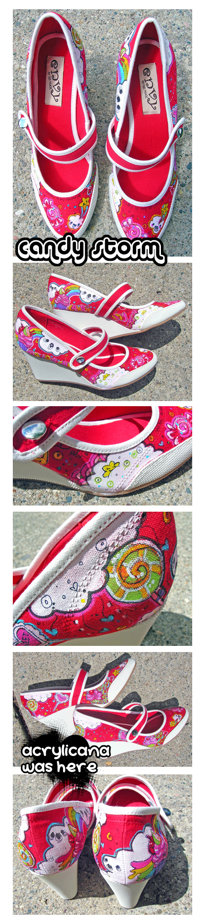 Candy Storm Shoes by marywinkler