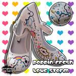Poppin Fresh Love Storm Heels