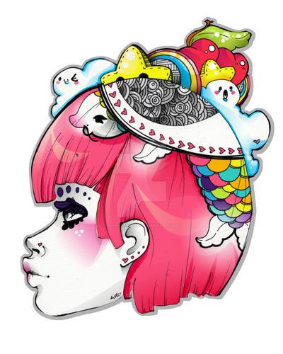 Koi Head by marywinkler