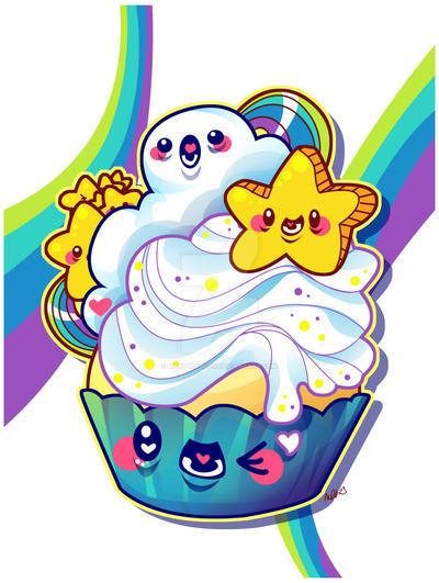 Cosmic Cupcake by marywinkler