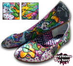 Pirate Candy Girl Shoes