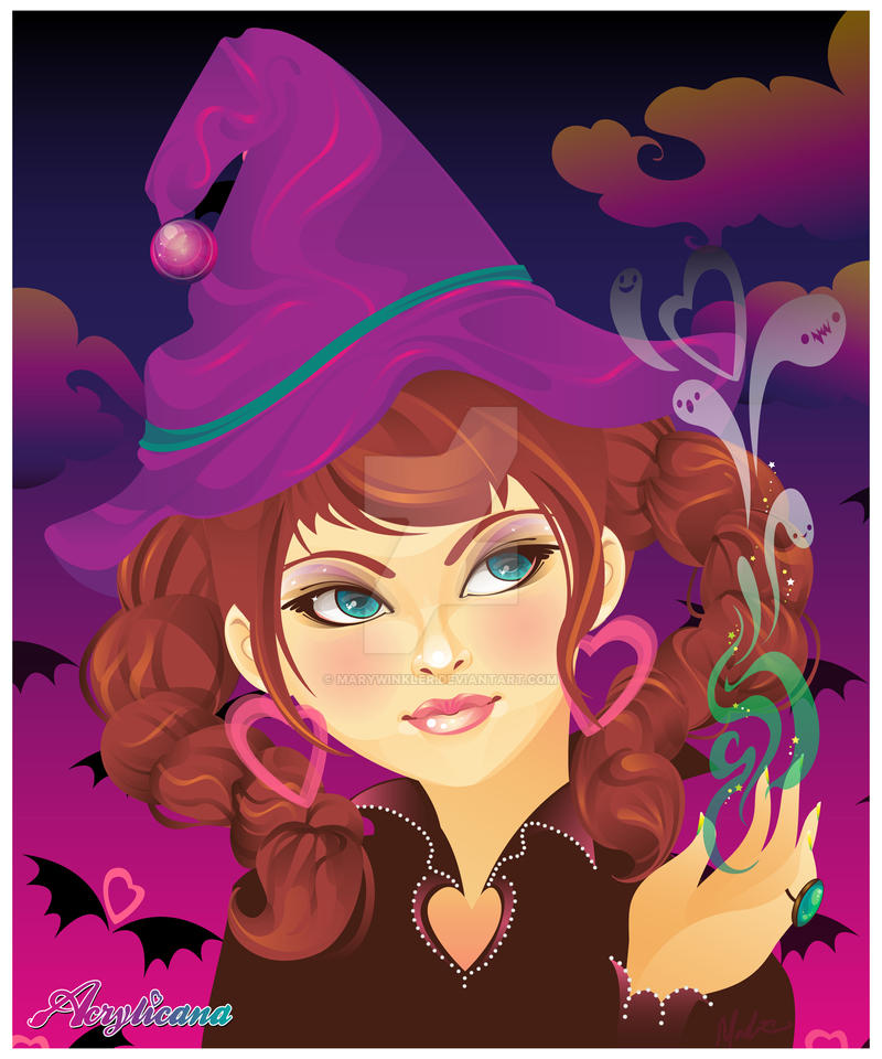 witchy woman by marywinkler