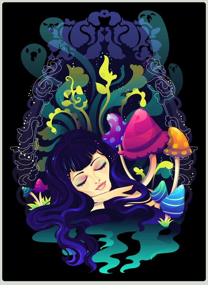 Mushroom Dream by marywinkler