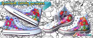 Zombie Candy Princess Shoes