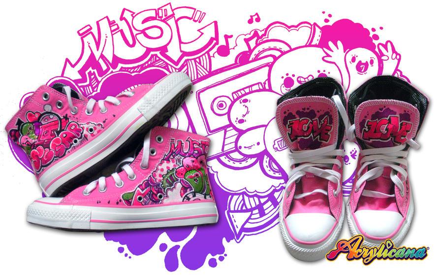 Pink Kicks by marywinkler