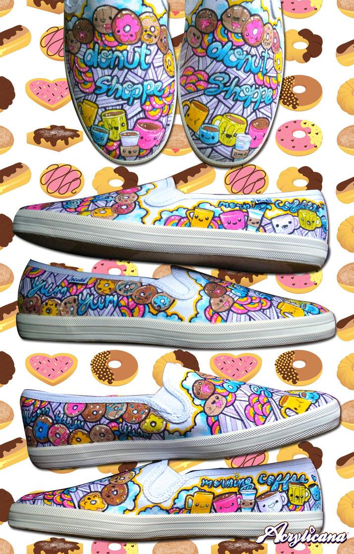 Donut Slip-Ons by marywinkler