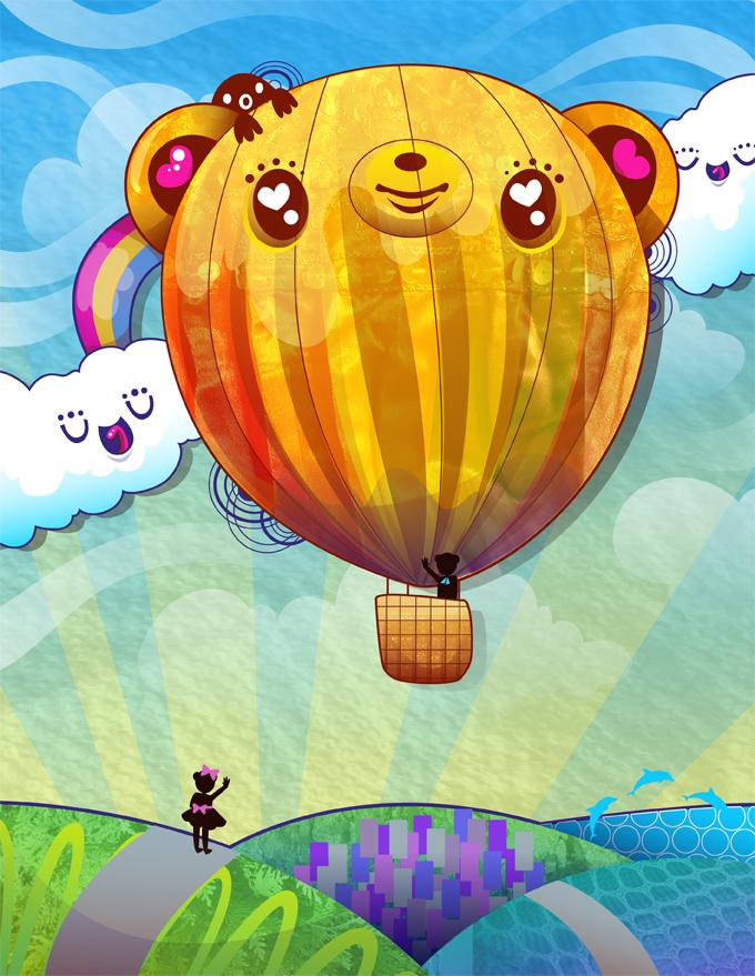 Tedsie Balloon: DA Mag 22 by marywinkler