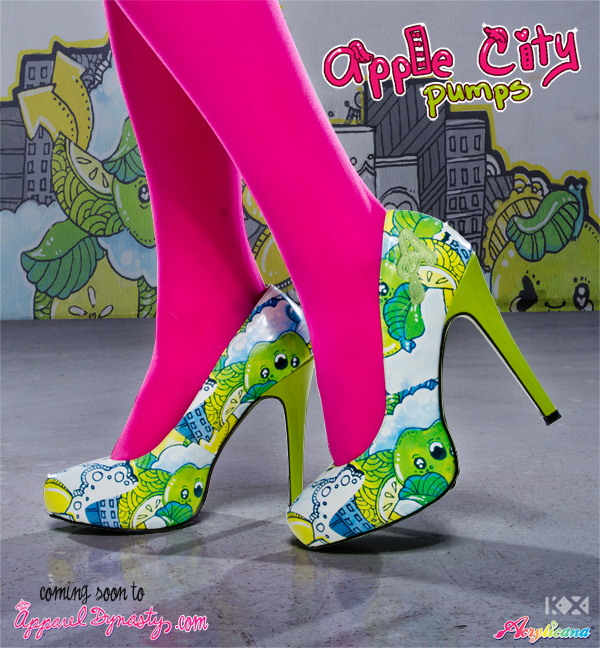 Apple City Shoes Promo by marywinkler