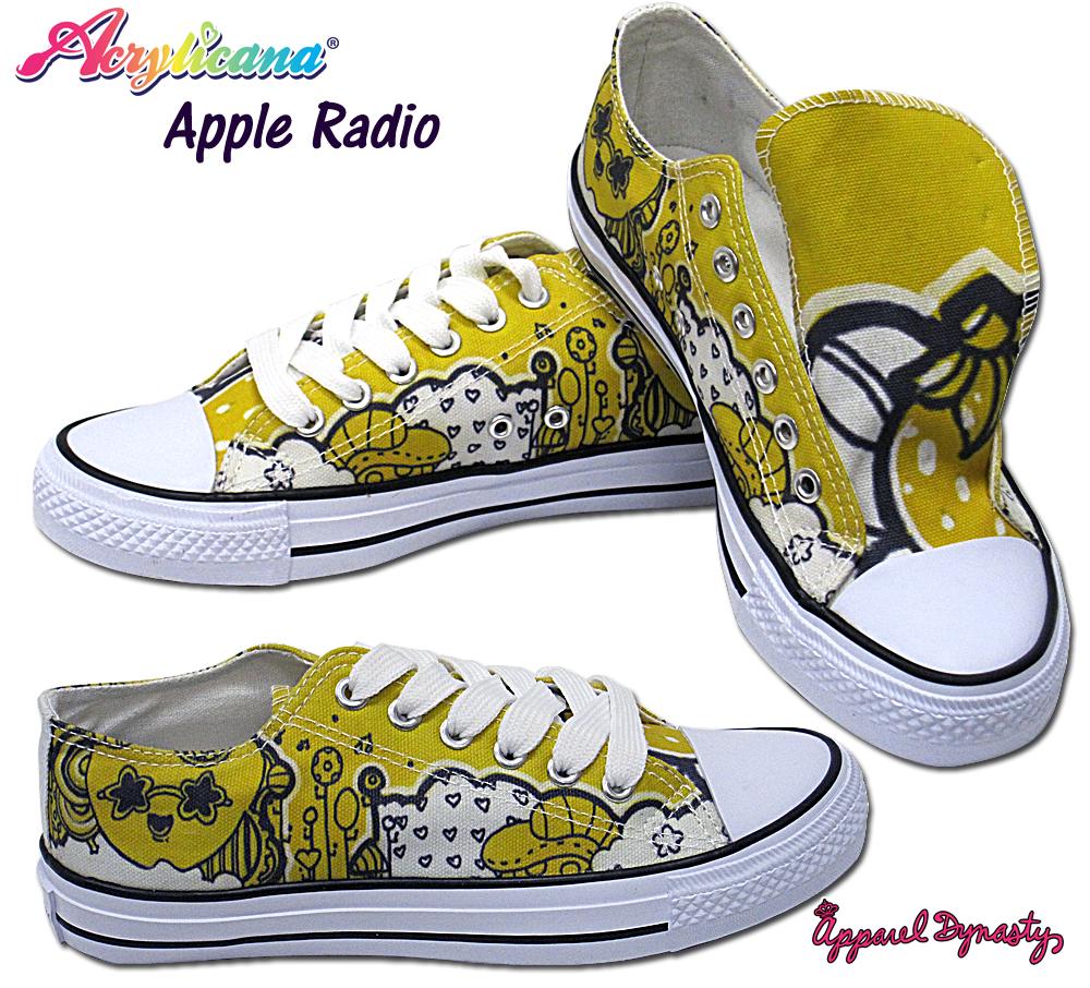 Apple Radio Low Tops by marywinkler