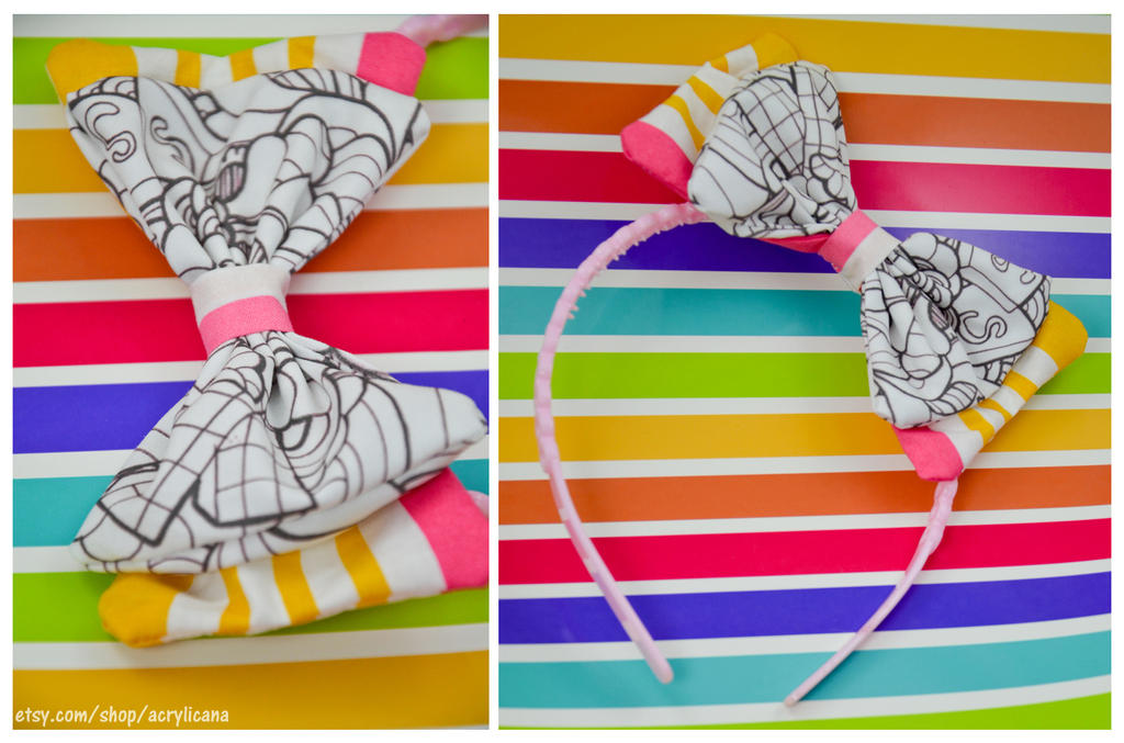 Ice Cream Treats Hairbow by marywinkler