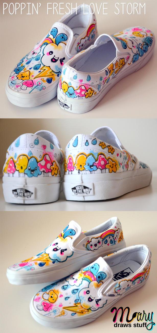 Poppin Fresh Kicks by marywinkler