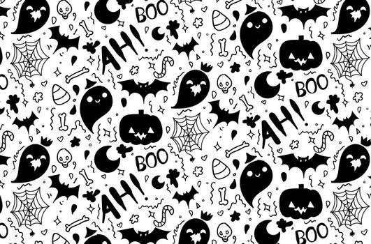 Tutorial: Hand Drawn Halloween Pattern
