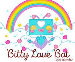Bitty Love Bot 2016 Calendar by marywinkler