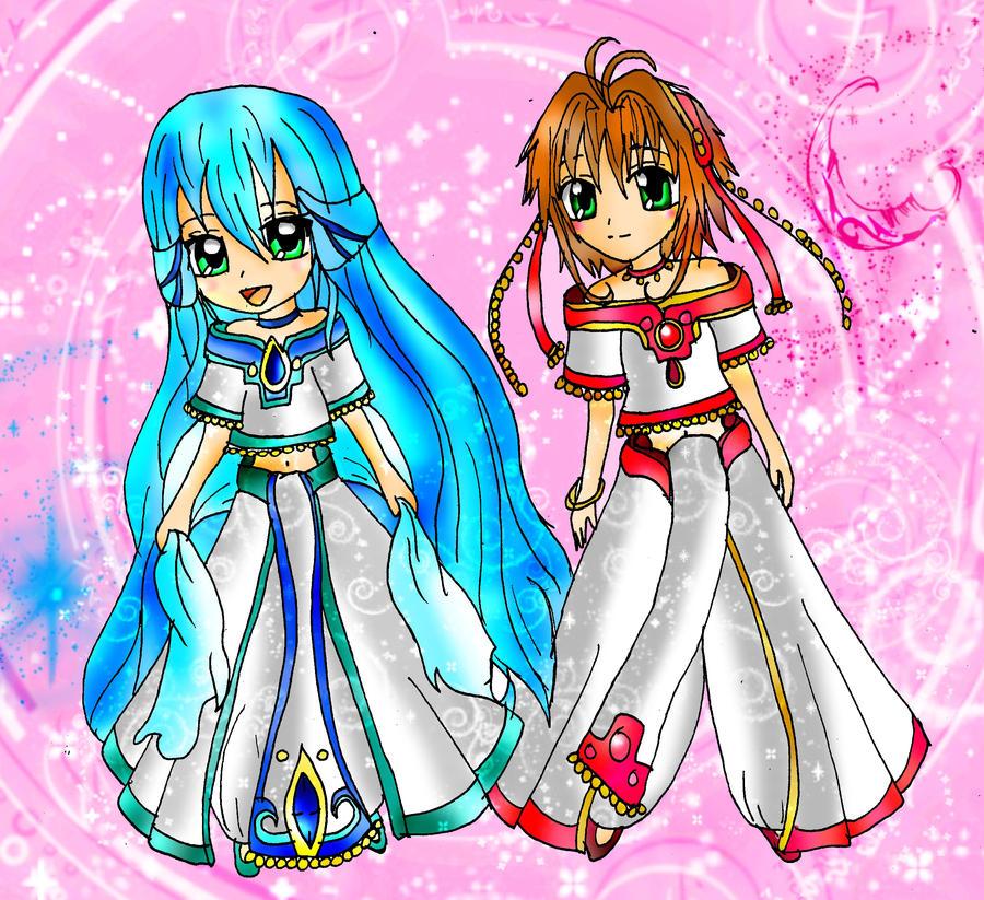 Princess Sakura 13931: Taura (Watery) And Princess Sakura By TauraSakura On