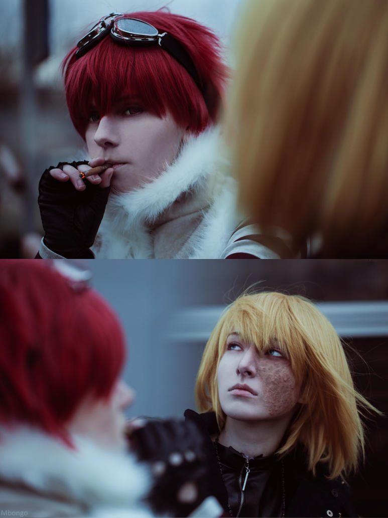 Cosplay: Mello and Matt #2 by pollypwnz on DeviantArt