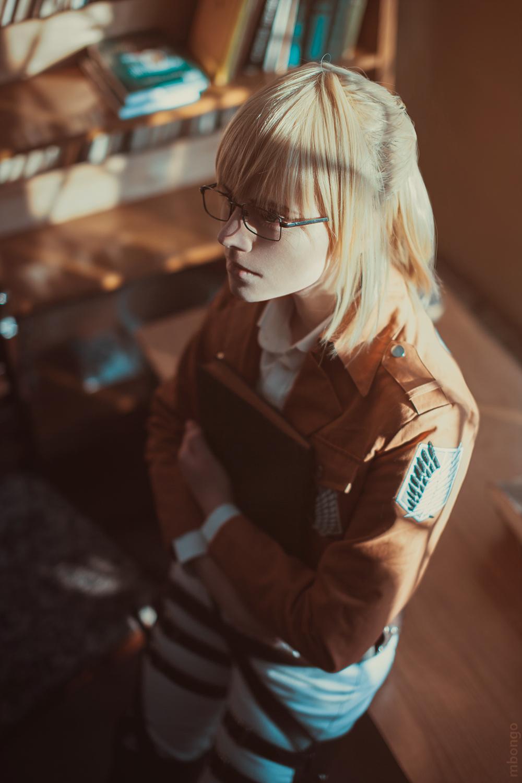 Armin Arlert cosplay by pollypwnz