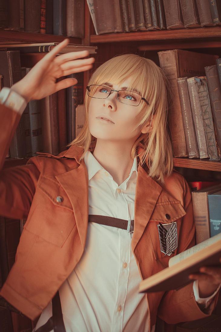 Armin Arlert cosplay #1 by pollypwnz