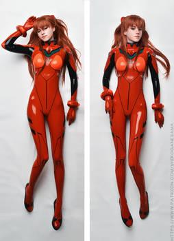 Cosplay Dakimakura: Asuka Langley